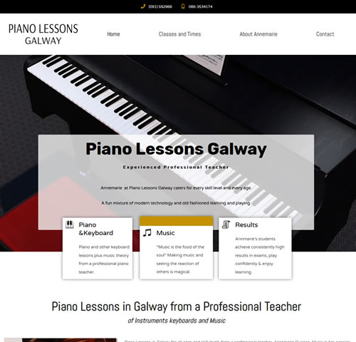 Piano Lessons Galway
