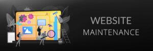 Website maintenance for better User Experience