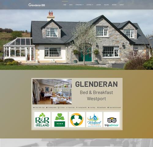 Glenderan Bed and Breakfast Westport Mayo Ireland