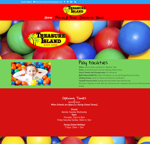 Treasure Island Kids Zone