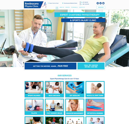 Knocknacarra Physiotherapy Galway City