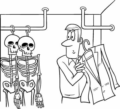 Skeletons in the Cupboard